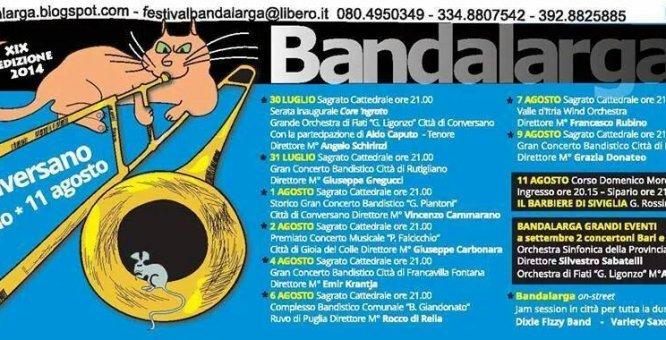 Festival Bandalarga Conversano Xix Edizione Puglia Events